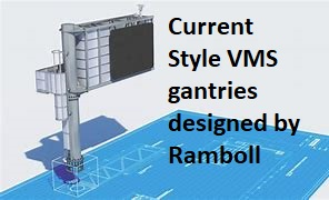 New style gantry designed by Ramboll
